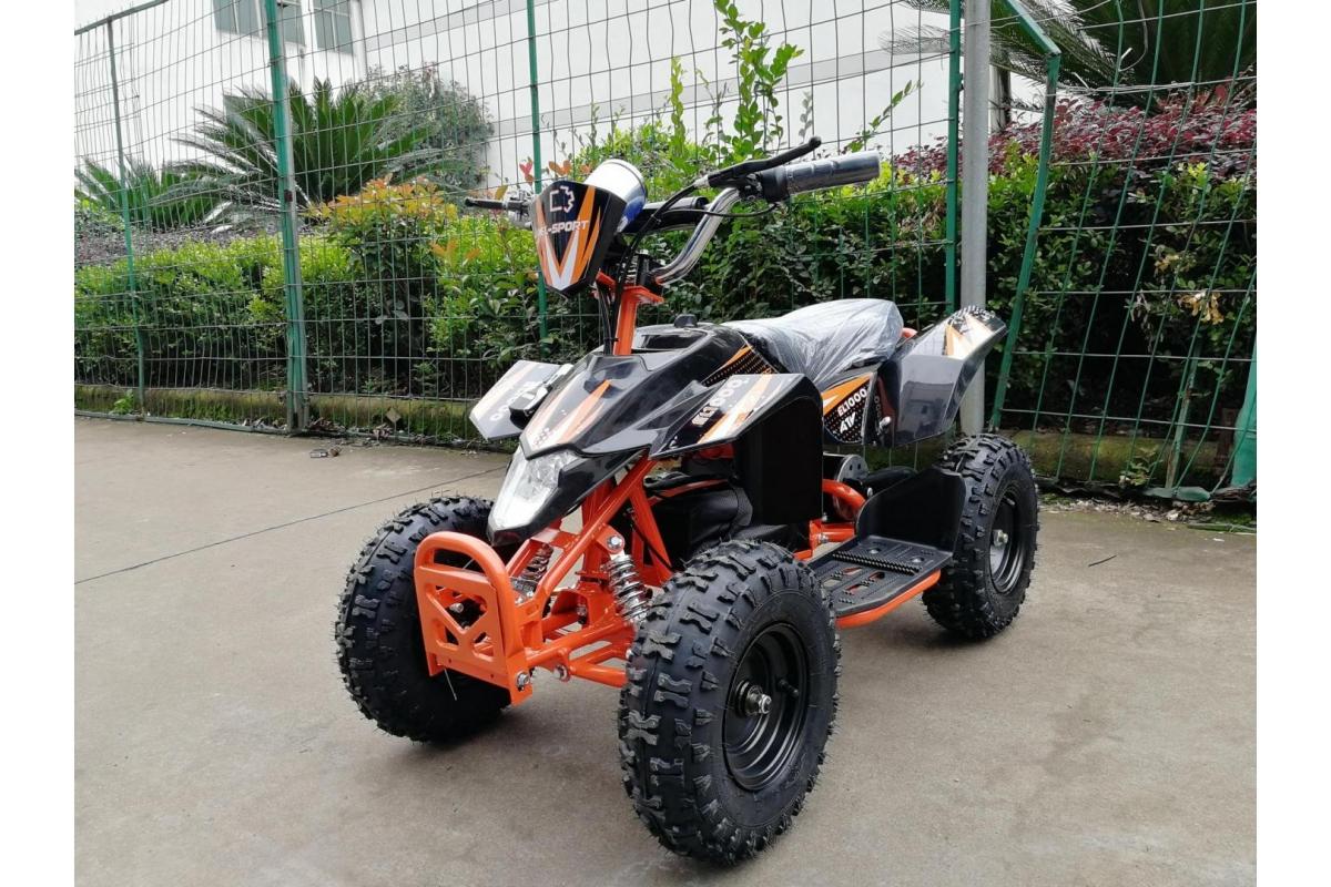 Электроквадроцикл EL-Sport Teenager mini 12V/12Ahх3 фото
